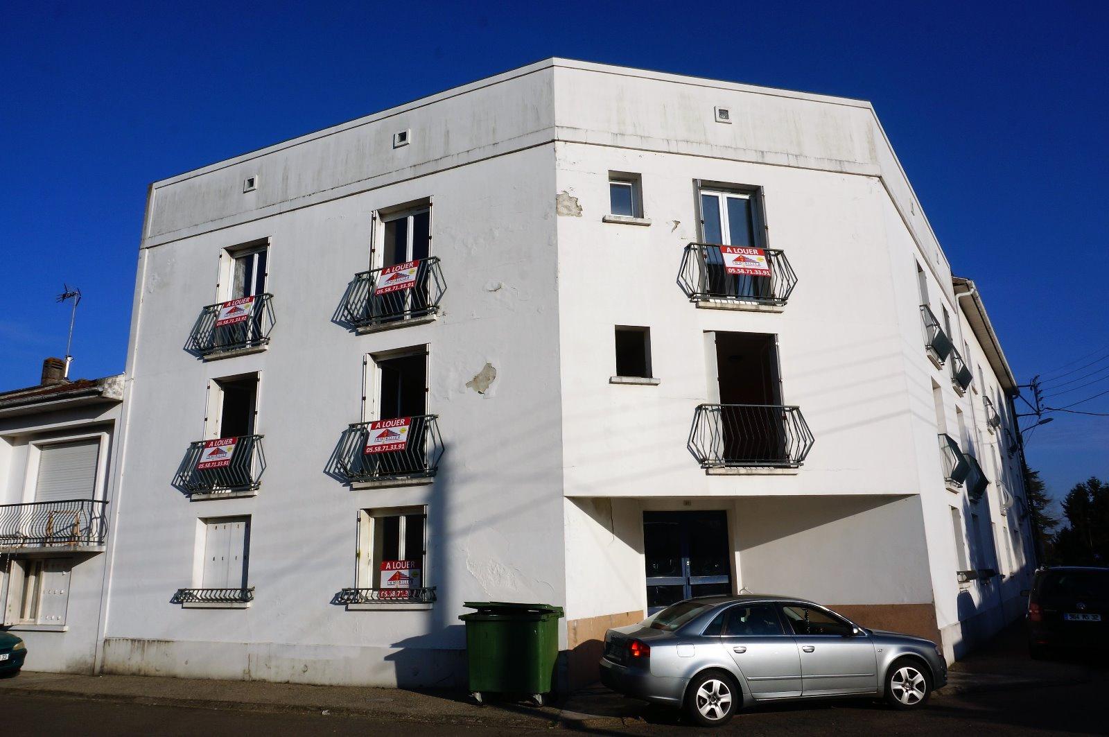 Location appartement 2 pièces aire sur l adour 40800